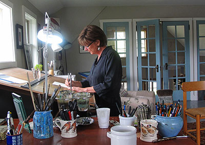 About Adelaide Tyrol, natural history artist-illustrator